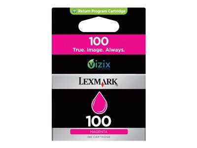 Lexmark 100 Magenta Return Program Ink Cartridge