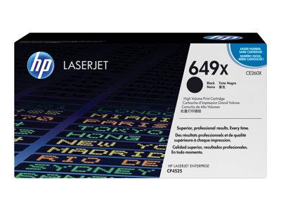 HP 649X High Yield Black Original LaserJet Toner Cartridge