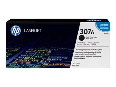 HP 307A Black Original LaserJet Toner Cartridge