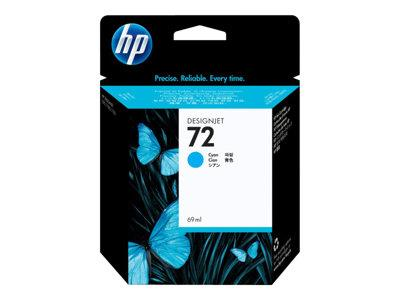 HP 72 69-ml Cyan Ink Cartridge