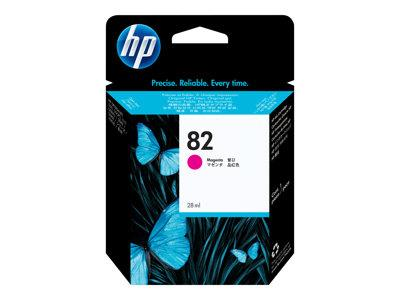 HP 82 28-ml Magenta Ink Cartridge
