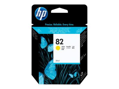 HP 82 28-ml Yellow Ink Cartridge