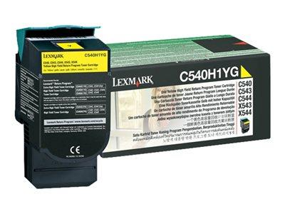 Lexmark Yellow High Yield Toner