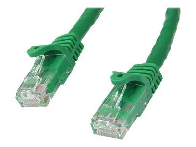 StarTech.com 15 ft Green Gigabit Snagless RJ45 UTP Cat6 Patch Cable