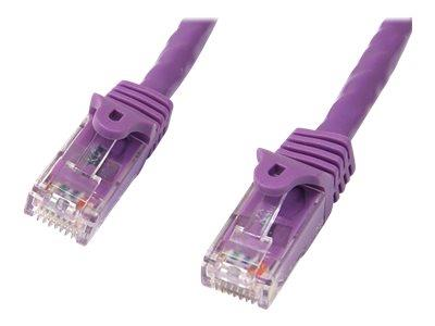 StarTech.com 15 ft Purple Gigabit Snagless RJ45 UTP Cat6 Patch Cable