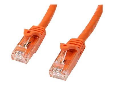 StarTech.com 7 ft Orange Gigabit Snagless RJ45 UTP Cat6 Patch Cable