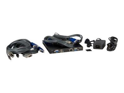 StarTech.com 4 Port USB VGA IP KVM Switch with Virtual Media