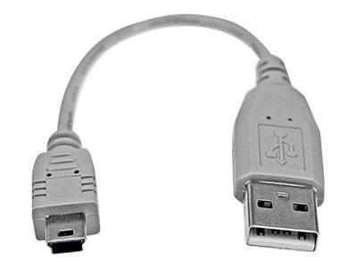 StarTech.com 6in Mini USB 2.0 Cable - A to Mini B