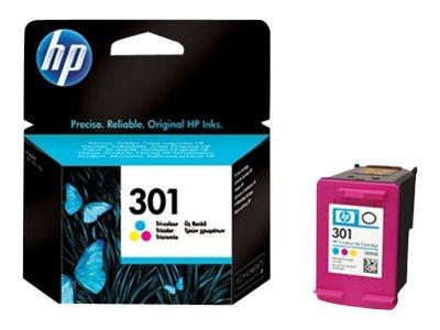 HP 301 - Colour Print cartridge - 165 pages - for Deskjet 1000, 1050, 2000, 2050, 3000, 3050
