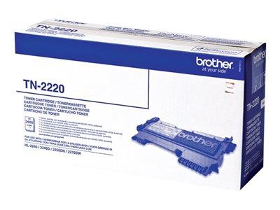 Brother TN2220 - Toner cartridge - 1 - 2600 pages