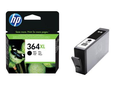 HP 364XL High Yield Black Original Ink Cartridge