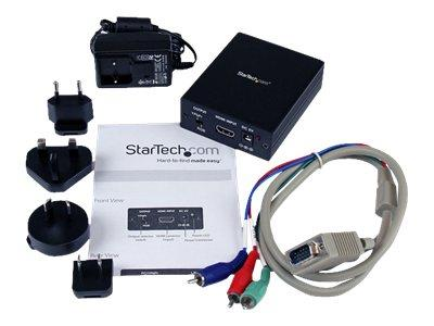 StarTech.com HDMI to VGA Video Adapter Converter with Audio - HD to VGA Monitor 1080p
