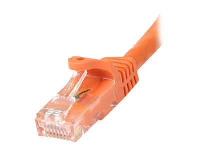StarTech.com 100 ft Orange Gigabit Snagless RJ45 UTP Cat6 Patch Cable