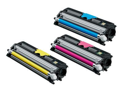 Konica Minolta MC16xx Toner Value Pack (2.5K)