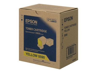 Epson - Toner cartridge - high capacity - 1 x yellow - 6000 pages