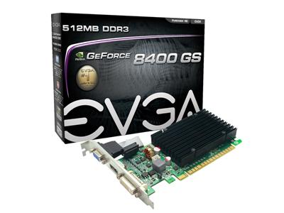 EVGA GeForce 8400GS 512MB PCI-Express HDMI