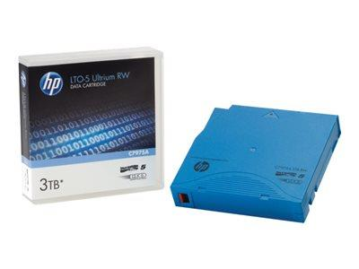 HPE HP LTO-5 Ultrium 3 TB RW Non Custom Labelled Cart 20 pack