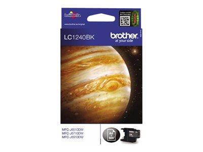 Brother LC1240BK - Print cartridge - 1 x black - 600 pages