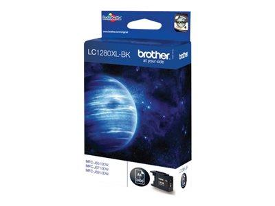 Brother LC1280XLBK - Print cartridge - 1 x black - 2400 pages