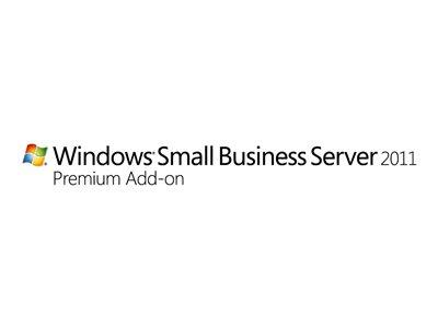HPE Microsoft Windows Small Business Server 2011 Premium Add-on - Licence - 5 User CALs - Multilingual