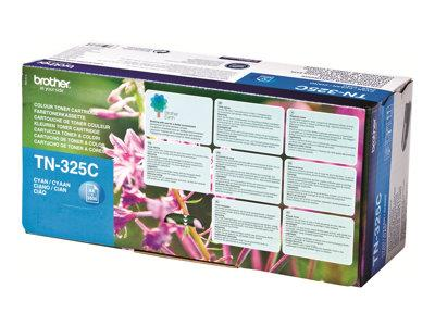 Brother TN325C - Toner cartridge - 1 x cyan - 3500 pages