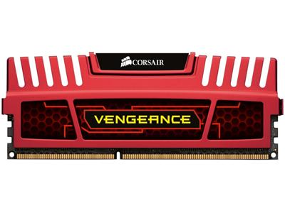 Corsair 8GB (2x4GB) DDR3 1866Mhz CL9 Vengeance Red Performance Desktop Memory Kit