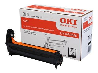 OKI C711 EP C711 Image Drum Black