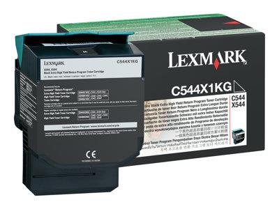 Lexmark Toner Black Extra High Yield