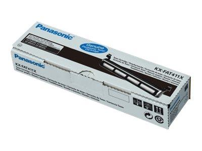 Panasonic KX FAT411X Toner Cartridge 2k Yield