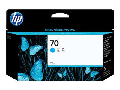 HP 70 130-ml Cyan Ink Cartridge