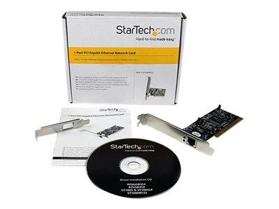 StarTech.com 1 Port PCI 10/100/1000 32 Bit Gigabit Ethernet Network Adapter Card