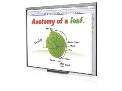 Smart Technologies SMART Board Interactive Whiteboard 480 - Whiteboard - 156.5 x 117.3 cm - Education