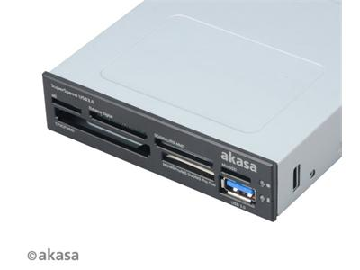 Akasa USB 3.0 SuperSpeed 6-Slot Multi-Memory Card Reader
