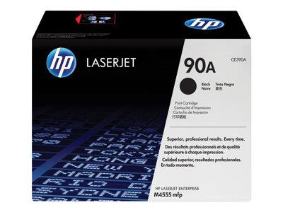 HP 90A Black Original LaserJet Toner Cartridge