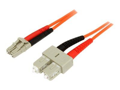 StarTech.com 1m Multimode 50/125 Duplex Fiber Patch Cable LC - SC
