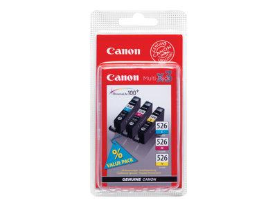 Canon CLI-526 Multipack Ink Cartridge (Yellow/Cyan/Magenta)