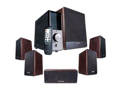 Microlab FineCone FC730 - 5.1-channel PC multimedia speaker system - 84 Watt (Total)