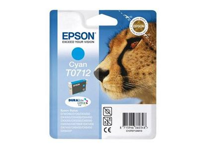 Epson T0712 - Print cartridge - 1 x cyan