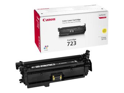 Canon 723 Yellow Toner Cartidge