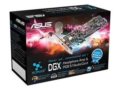 Asus Xonar DGX PCI-Express 5.1 Channel Gaming Audio Card