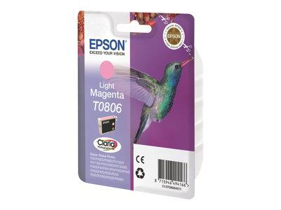 Epson T0806 Ink Cartridge - Light Magenta