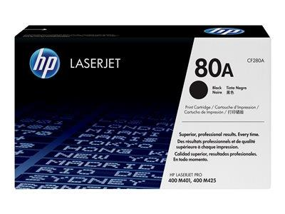 HP 80A Black Original LaserJet Toner Cartridge