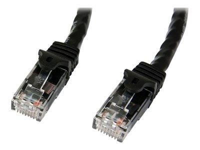 StarTech.com 5m Black Gigabit Snagless RJ45 UTP Cat6 Patch Cable
