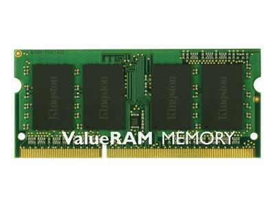 Kingston ValueRAM 4GB DDR3 1600MHz Non-ECC SO DIMM CL11 SR x8