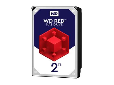 WD 2TB Red NAS Desktop  Hard Disk Drive - Intellipower SATA 6 Gb/s 64MB Cache 3.5 Inch - WD20EFRX