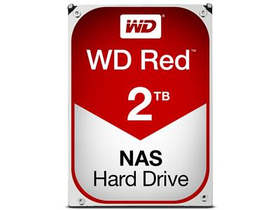 WD Red 2TB NAS Desktop  Hard Disk Drive - Intellipower SATA 6 Gb/s 64MB Cache 3.5 Inch - WD20EFRX