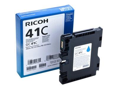 Ricoh Cyan Gel High Yield GC 41C (2200 prints)