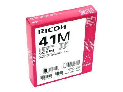 Ricoh Magenta Gel High Yield GC 41M (2200 prints)