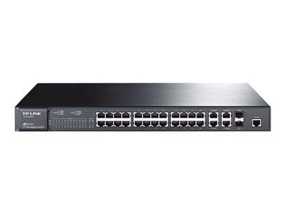 TP LINK 24-Port 10/100 4 x Gigabit or 2 SFP Slot Managed Switch