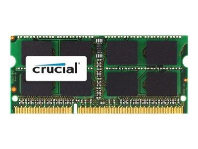 Crucial 4GB DDR3 1600 MT/s (PC3-12800) CL11 SODIMM 204pin 1.